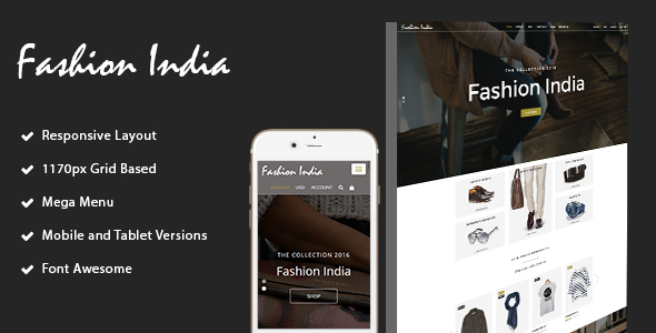 fashion-India Shop HTML Template            TFx
