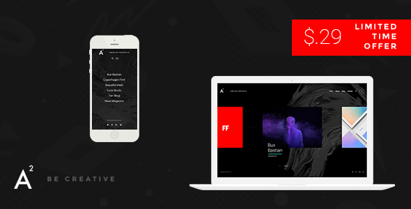 A2 - Creative WordPress Theme            TFx