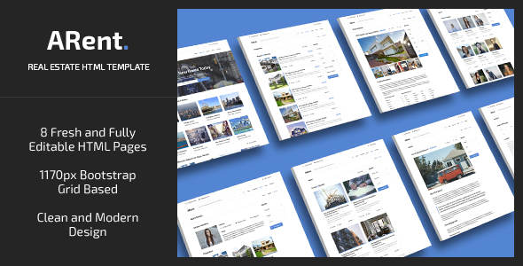 ARent — Real Estate Agency HTML Template            TFx