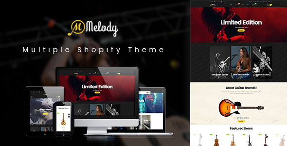 Ap Melody Drag And Drop Shopify Theme            TFx