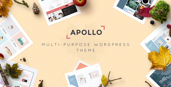 Apollo - Responsive Multi-Purpose WordPress Theme            TFx