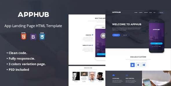 Apphub App Landing Page            TFx