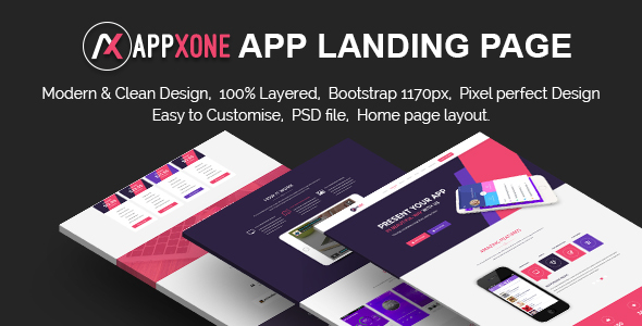 Appxone App Landing Page            TFx