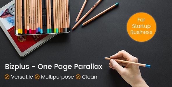 Bizplus - One Page Parallax            TFx
