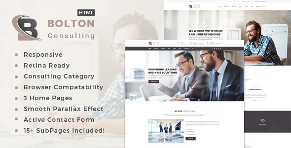 Bolton : Business, Finance and Consultancy Template            TFx