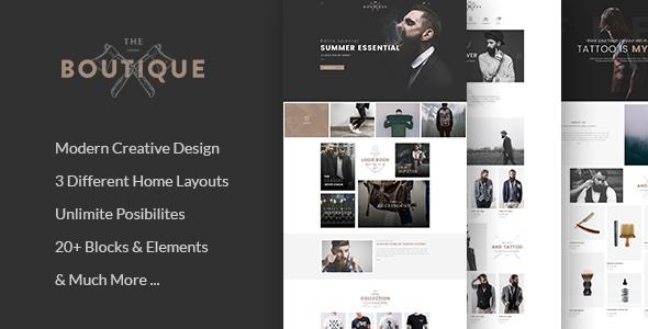 Boutique - Multipurpose WooCommerce Theme            TFx