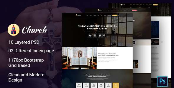 Church PSD Template            TFx
