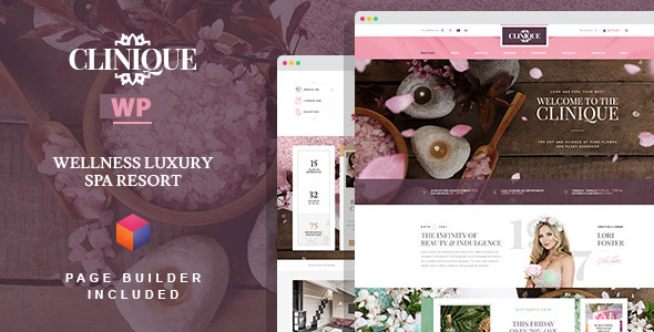 Clinique - Wellness Luxury Spa Resort WordPress Theme with Builder            TFx