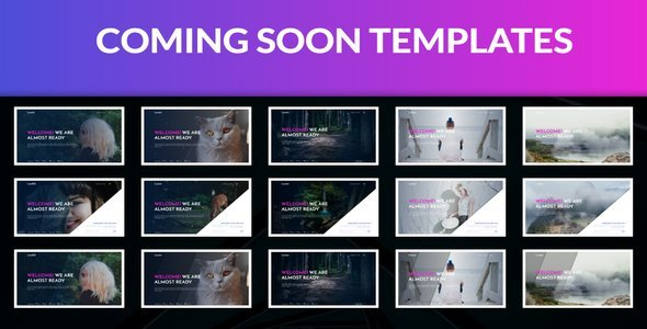 Coming Soon Template            TFx