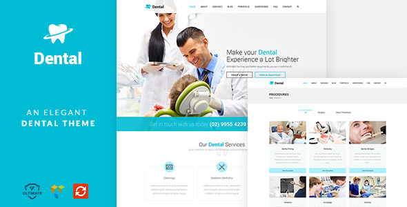 Dental - A clean Orthodontist Medical WP theme            TFx