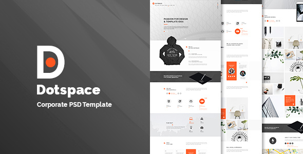 Dotspace - Corporate PSD Template            TFx