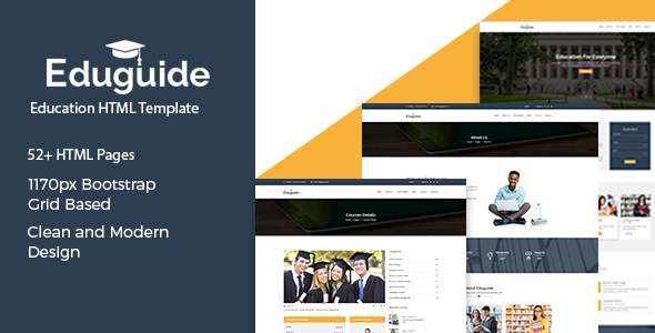 Eduguide  – Education HTML Template            TFx