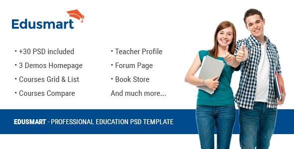 Edusmart Education PSD Template            TFx