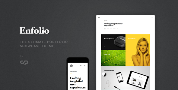 Enfolio - Portfolio Showcase WordPress Theme            TFx