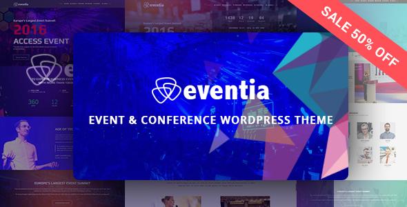 Eventia - Conference & Event Responsive WordPress Theme            TFx