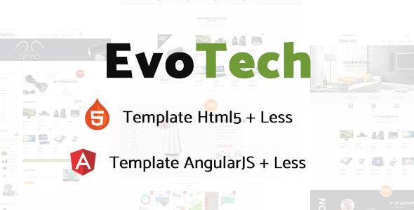 EvoTech - Electronics eCommerce HTML Template            TFx
