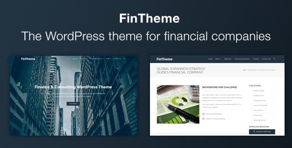 Finance WordPress Theme - For Finance & Consultants            TFx