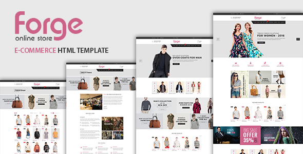 Forge - eCommerce Fashion Template            TFx