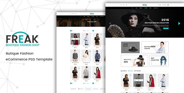 Freak - eCommerce Fashion Template            TFx