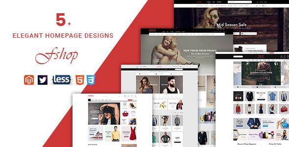 Fshop - Responsive Magento 2 Fashion Store Theme            TFx