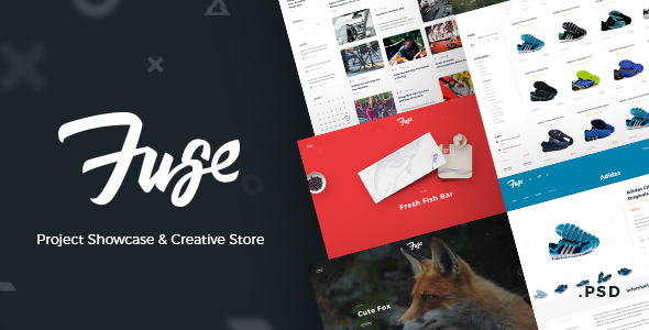 Fuse – Project Showcase & Creative Store            TFx