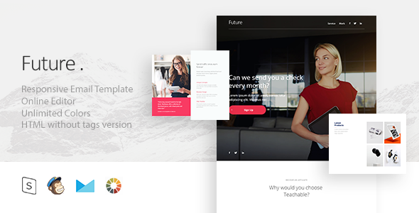 Future – Responsive Email + StampReady Builder            TFx
