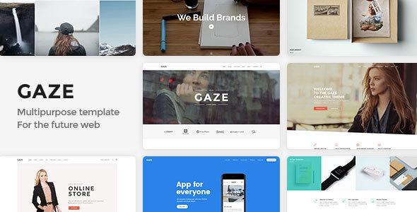 Gaze | Premium Multipurpose HTML Template            TFx