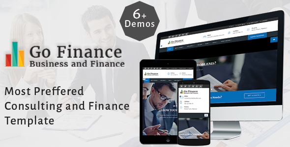 Go Finance - Consultant - Business & Finance & Corporate Services Template            TFx