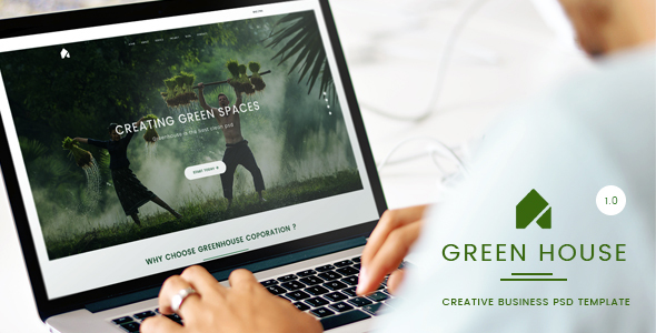 GreenHouse - Creative Business PSD Template            TFx
