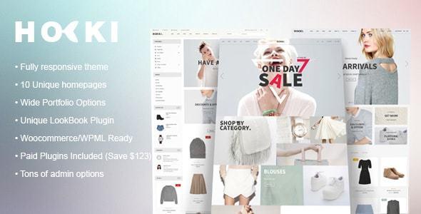 HOKI - Multi-Purpose Responsive WordPress & WooCommerce Theme            TFx