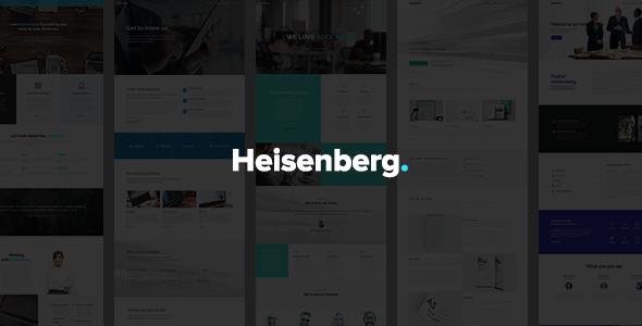 Heisenberg - MultiPurpose WordPress Theme            TFx
