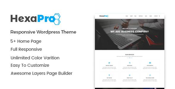 Hexapro – Corporate WordPress Theme            TFx