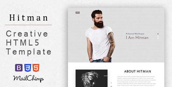 Hitman - Responsive Corporate, Business, Creative , Portfolio and  Blog Template            TFx