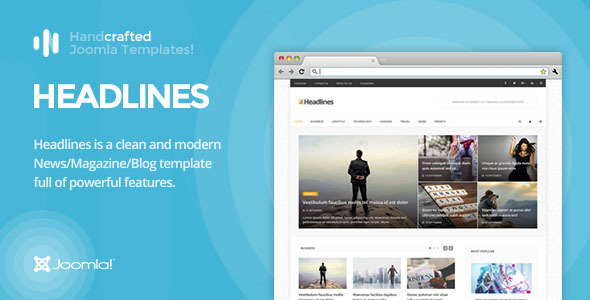 IT Headlines - Gantry 5, News/Magazine & Blog Joomla Template            TFx