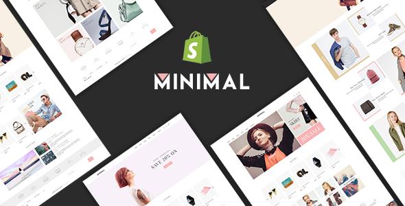 JMS Minimal - Responsive Shopify Theme            TFx
