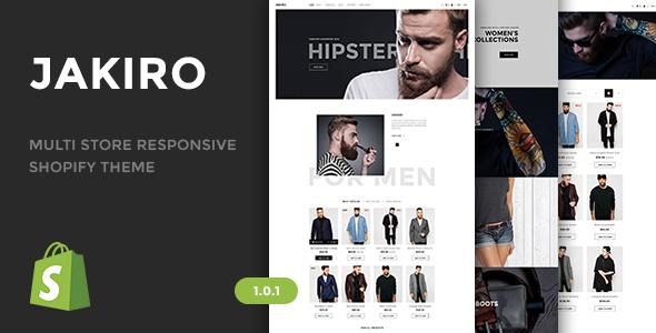 Jakiro - Multi Store Responsive Shopify Theme            TFx