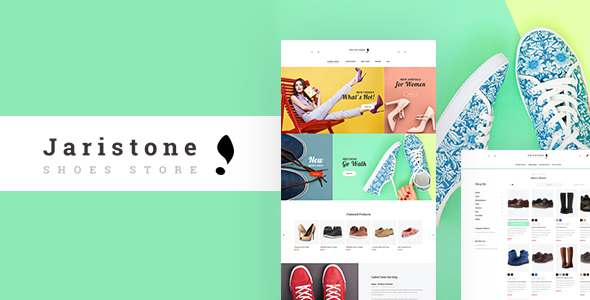 Jaristone - Responsive Magento 2 Shoes Store Theme            TFx