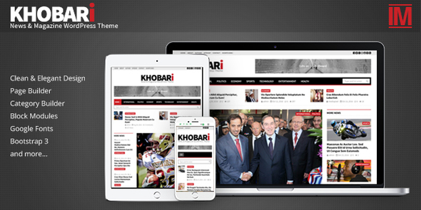 Khobari - News & Magazine WordPress Theme            TFx