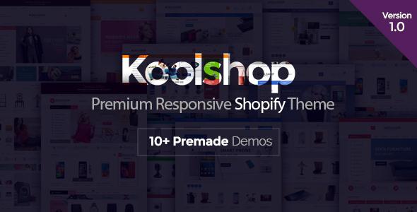 KoolShop - Responsive Shopify Theme            TFx