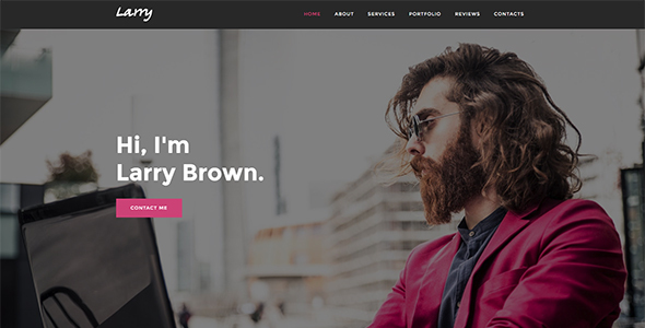 Larry - Personal Onepage Template            TFx