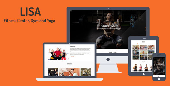 Lisa - Fitness Center, Gym and Yoga Template            TFx