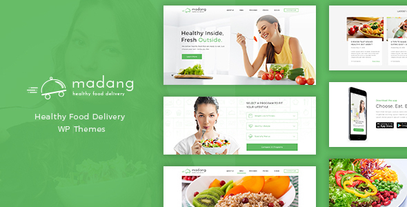 Madang - Healthy Food Delivery Wordpress Theme            TFx