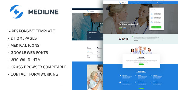 Mediline - Medical & Health HTML Template            TFx