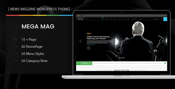 MegaMag - News, Newspaper, Magazine, Blog, Viral Content and Review WordPress Theme            TFx