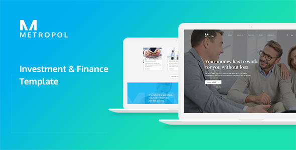 Metropol - Investment & Finance HTML Template            TFx