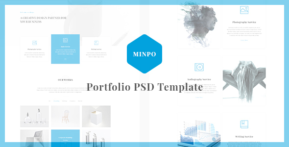 Minpo - Portfolio PSD Template            TFx