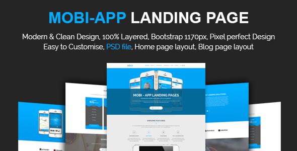 Mobi App Landing Page            TFx