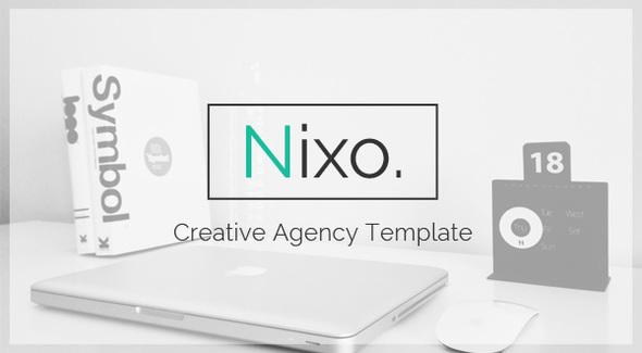 Nixo Creative OnePage Template            TFx