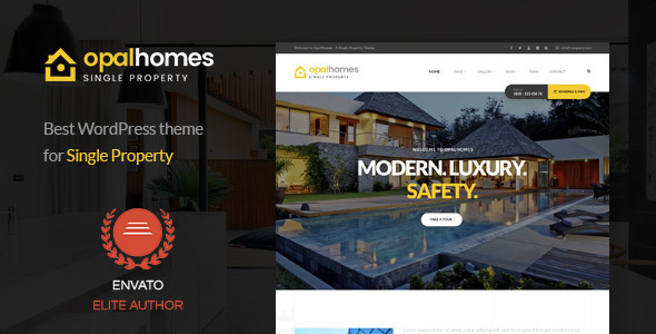 Opalhomes - Single Property  WordPress Theme            TFx