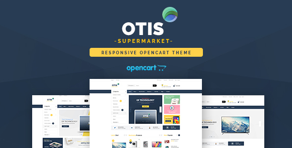 Pav Otis - Advanced Digital & Technologies Opencart theme            TFx